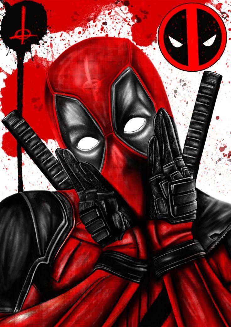 #Deadpool #Fan #Art. (Deadpool) By:SHNeedleVillan. (THE * 5 * STÅR * ÅWARD * OF: * AW YEAH, IT'S MAJOR ÅWESOMENESS!!!™)[THANK U 4 PINNING!!!<·><]<©>ÅÅÅ+(OB4E)   https://s-media-cache-ak0.pinimg.com/474x/7a/03/0e/7a030ea5105610646f622d410ebd571c.jpg