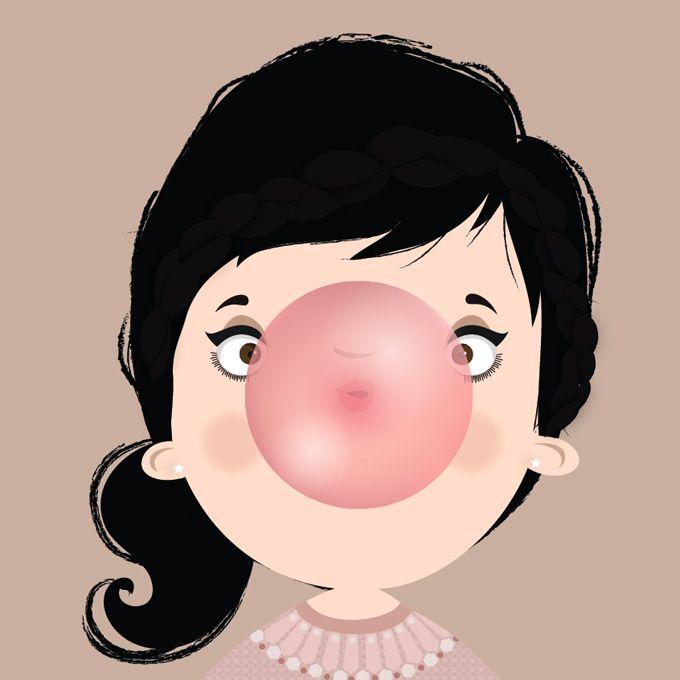 Designer carioca cria primeira ilustração a ter um perfil na rede social! Saiba mais sobre a Lubi :)