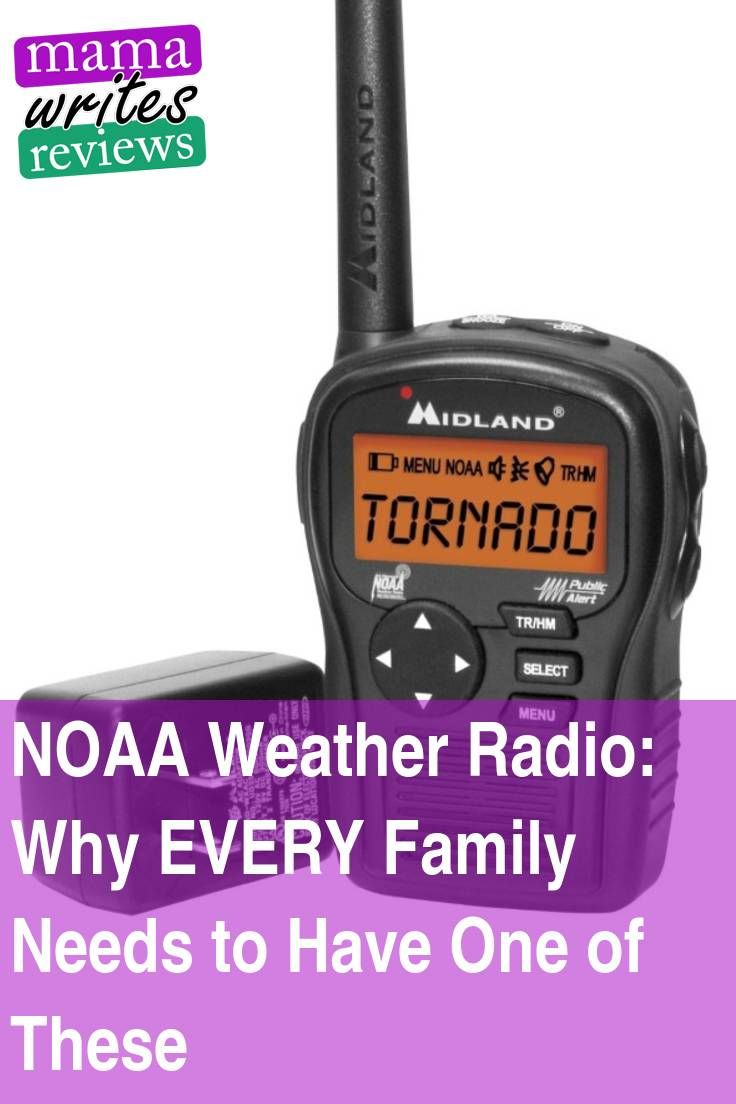 NOAA Weather Radio: Why EVERY Family Needs to Have One of