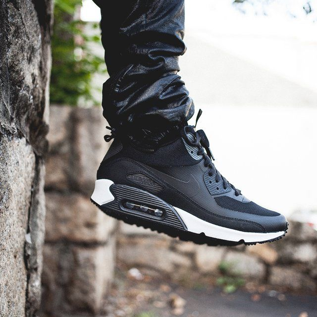low priced 103a6 4b311 ... order air max 90 sneakerboot on feet fancy nike air max sneakerboot  e0666 4cc47