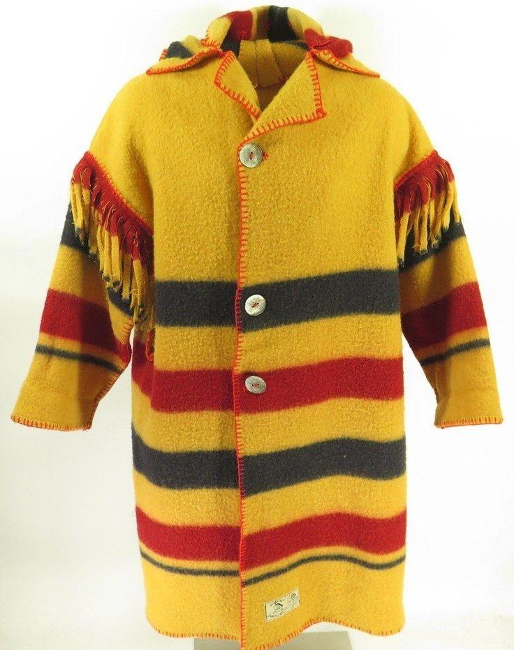 Vintage 80s Five Point Blanket Coat Mens XL Earlys of Witney Wool Horse Rug | eBay