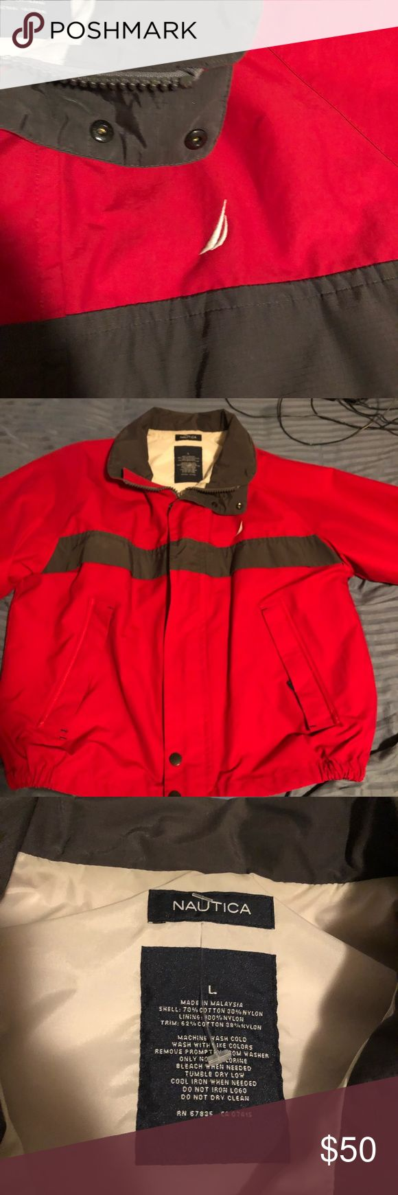 Vintage Nautica Jacket GOOD CONDITION, CHEAP PRICE, VINTAGE Nautica Jackets & Coats Windbreakers