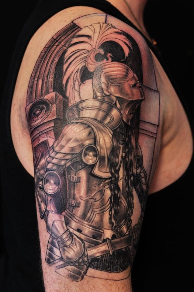 36 best images about Knight Tattoos on Pinterest | Gilbert ...