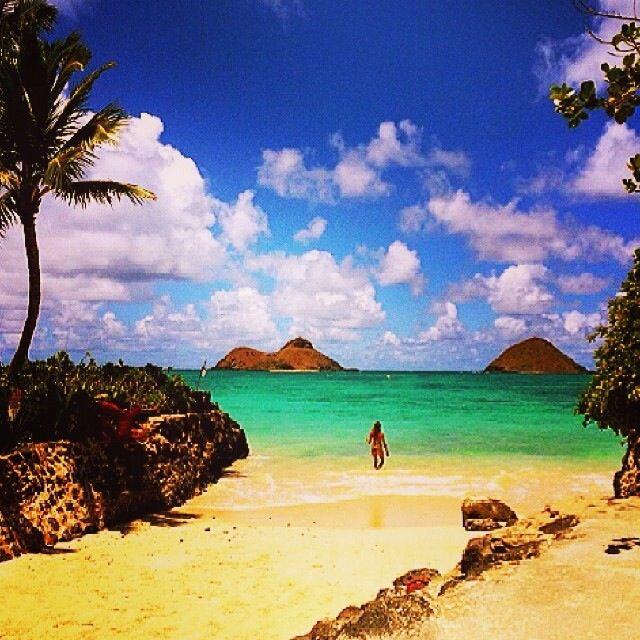 Sandy Beach: 29 Best White Sandy Beach Of Hawaii Images On Pinterest