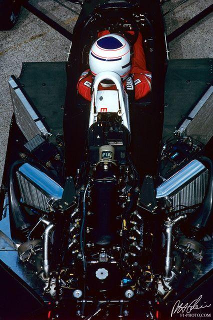 Alain Prost, McLaren MP4-2C 1986 @ Hungarian Grand Prix