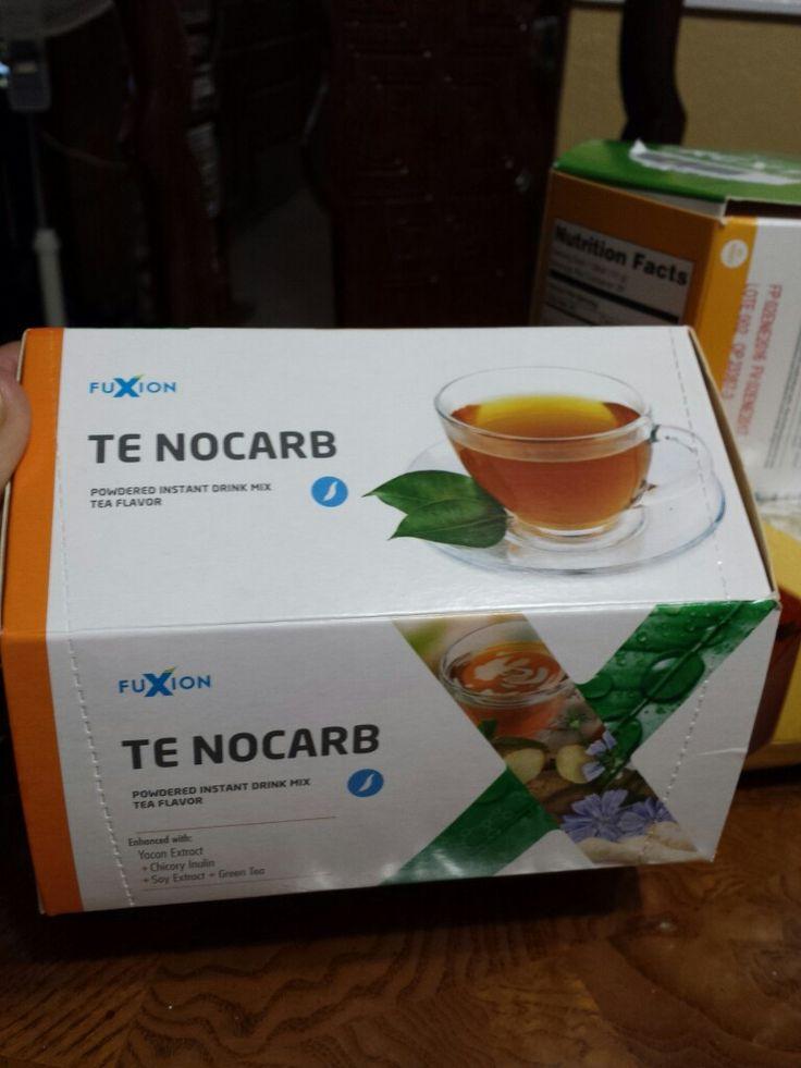 FuXion Te NoCarb es un Te Natural que mantiene los niveles de glucosa y del colesterol