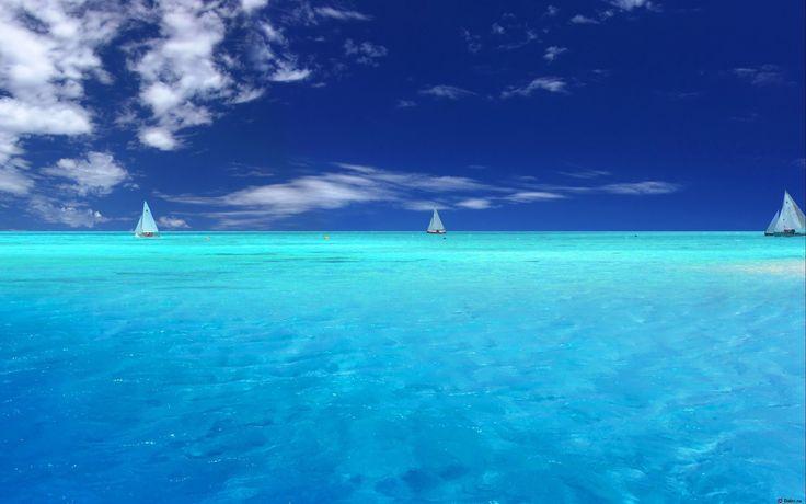 Stunning Saturday morning view!  #boats #ocean #caribbean #peace #morning