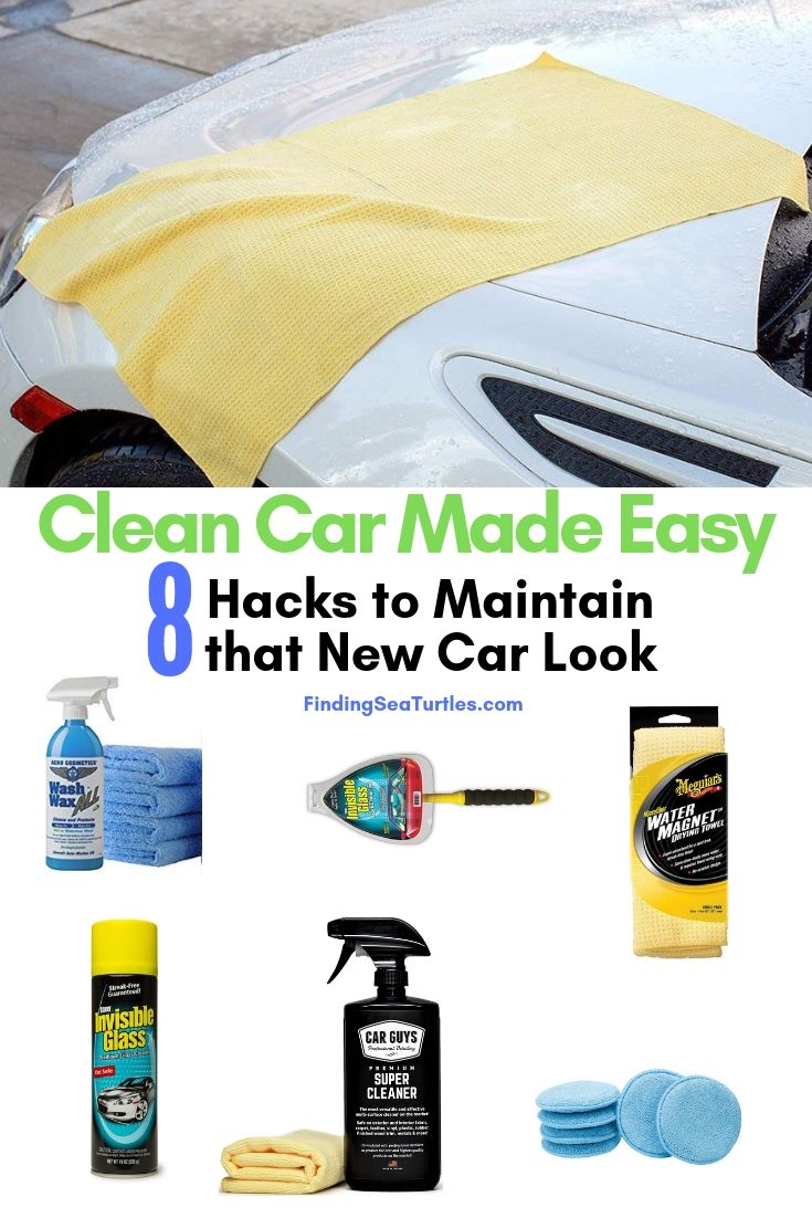 8 Fast Car Cleaning Products To Make Your Car Shine Finding Sea Turtles Car Cleaning Best Glass Cleaner Sports Cars