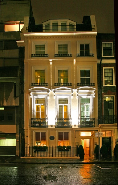 The Fox Club London - The Clarges Street house that once belonged to Elizabeth Armistead