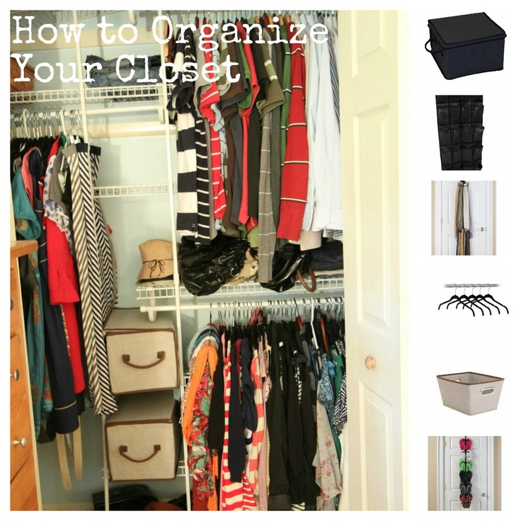 127 best chic organised closets reach ins images on for Maximize small closet