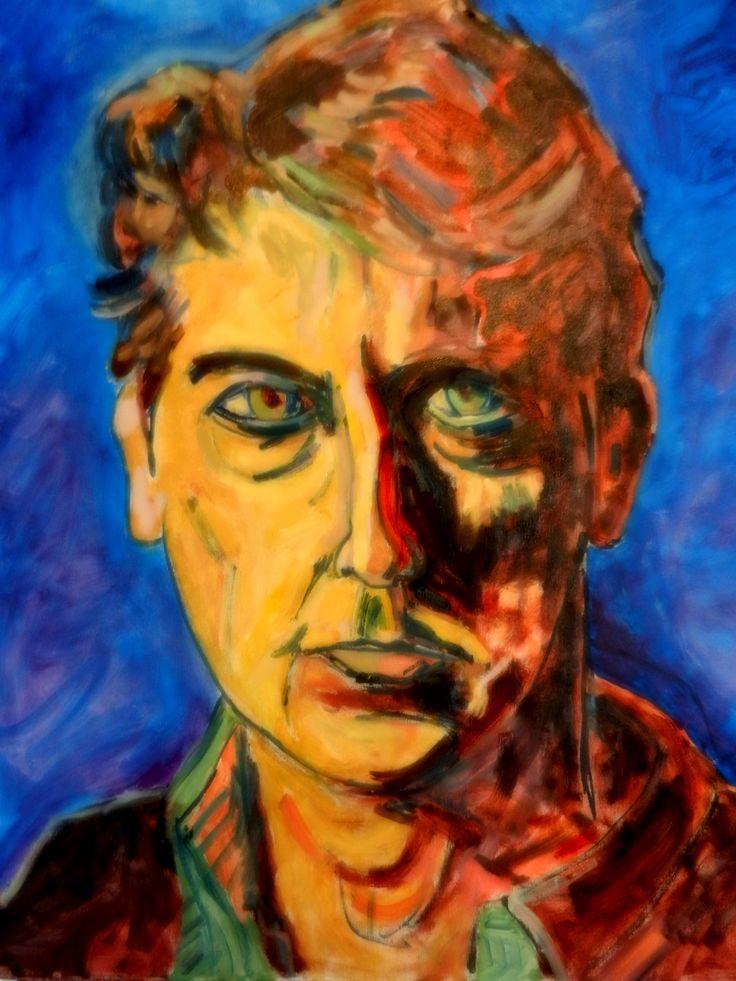Portrait of Alexander Payne  2016 oil painting
