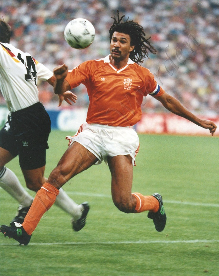 Ruud Gullit Dutch, 1980s & 1990s. Was a thrill to watch
