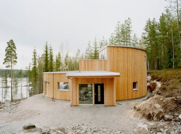We are very good in Sweden to build houses like this eco friendly house.