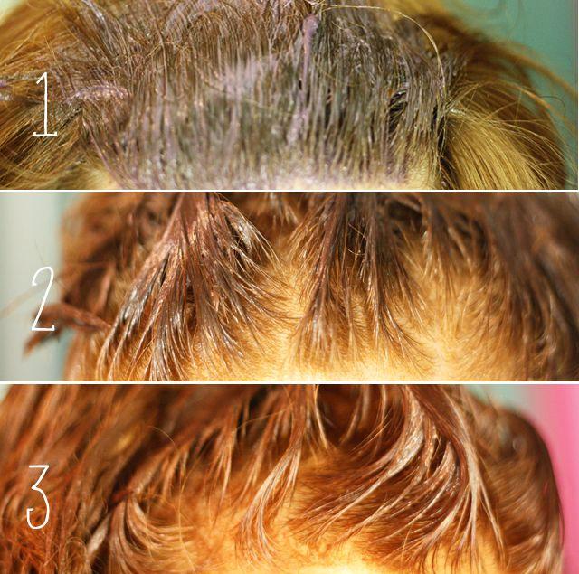 Enlever couleur sur cheveux