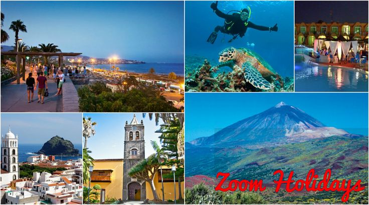 Discover in 3 hours of trip the fascinating sensation of swimming and snorkelling with turtles and school of fish in the magic waters of Tenerife. Ours expert instructors will follow you and give you all the useful information about the sea world in Playa de la Arena. Pictures of your experience included. #canaryIslands #Europe #sea #swimming #mountains #hotels #monuments #beaches #turtles #dinner #travel #packages #tourist #BestDeals