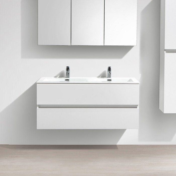 Les 25 meilleures id es concernant meuble double vasque for Meuble largeur 25 cm