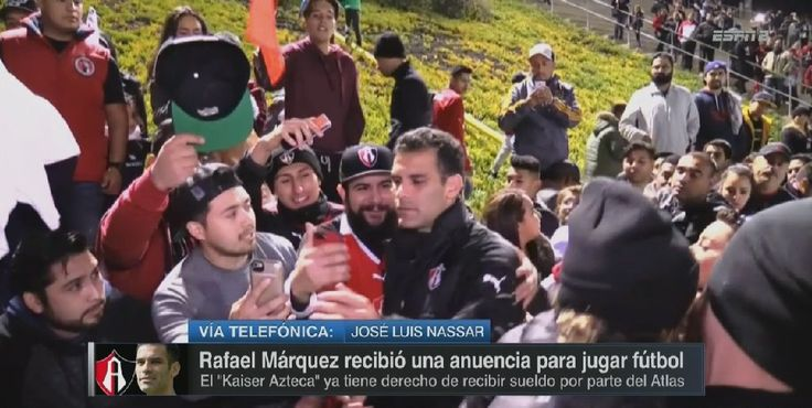 Rafa Marquez Club Atlas