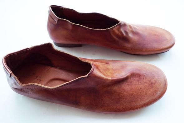 Как делается обувь из кожи