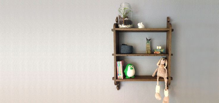 Peggy shelf - solid oak - perfect for those little things. www.nannestadandsons.com