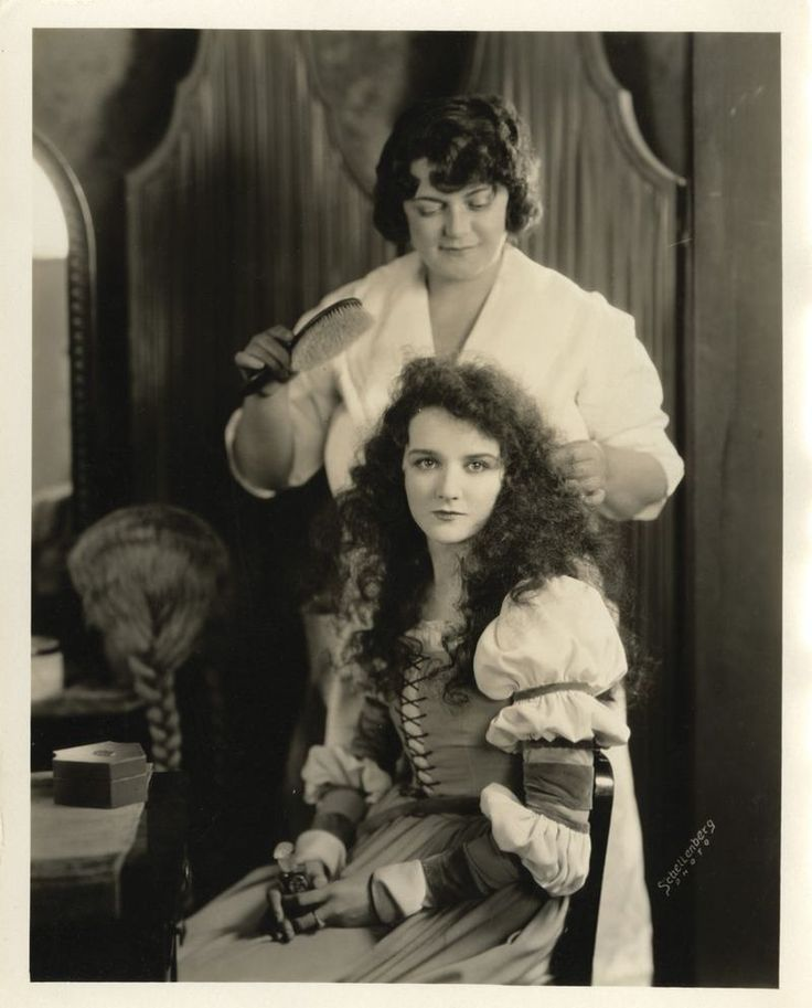 Hairdresser Lily Dirigo 1891 1970 Who Worked On All The Famous Silent Movie