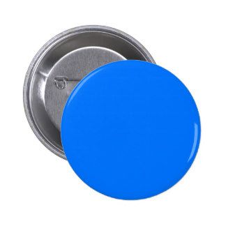 Blue Pinback Button