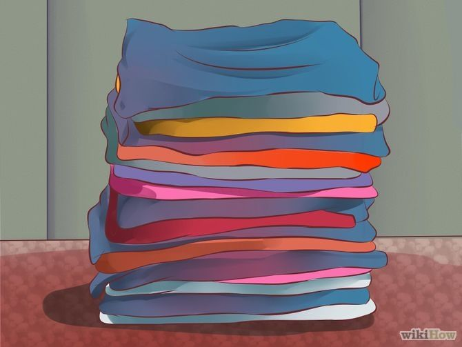 Gather some old clothes and blankets you can use for padding.