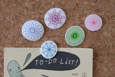 link to Shrink Art ideas. I like this one using Spirograph. Printing and photos are also referenced.