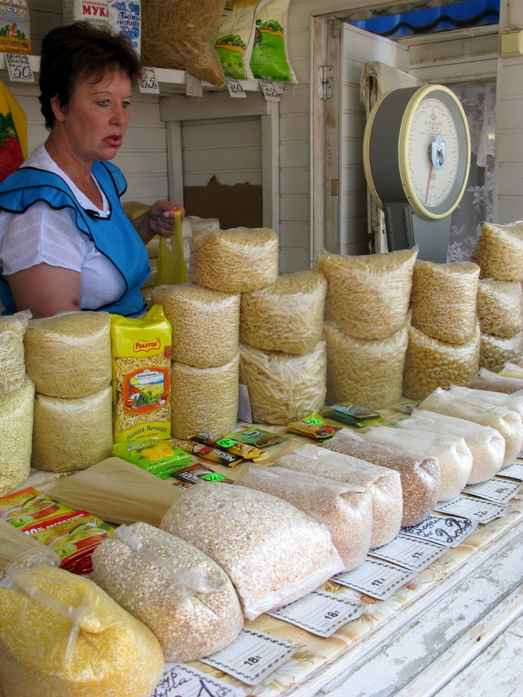 Market near Voronezh, Russia