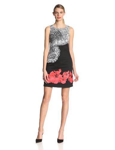 Desigual Womens Belgica Sleeveless Cocktail Dress Black 38 *** Learn more by visiting the image link.