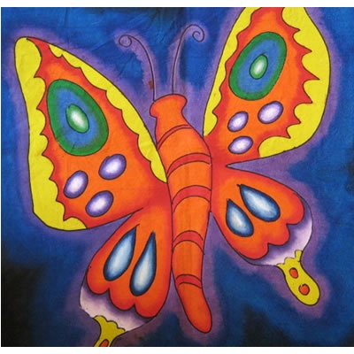 kids fabric painting butterfly - Kids Pictures To Paint