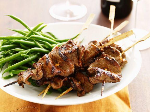 Rinder-Sate ist ein Rezept mit frischen Zutaten aus der Kategorie Rind. Probieren Sie dieses und weitere Rezepte von EAT SMARTER!