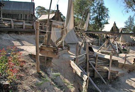sovereignhill   Tragedy at peg leg gully Audio source quote of the dangers of mining