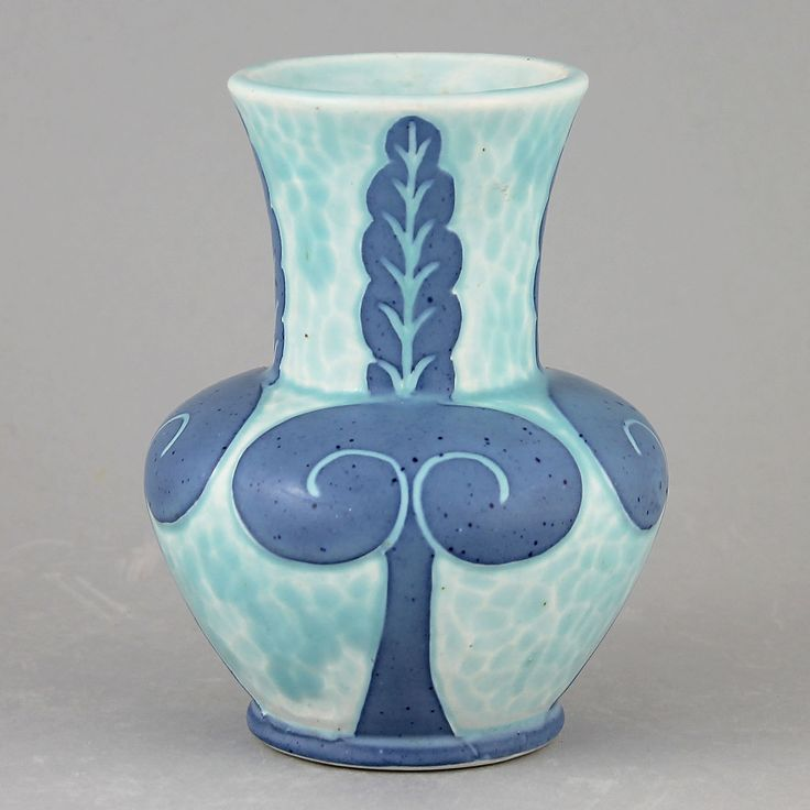 Josef Ekberg (1923) Small Art Deco Sgraffito Vase
