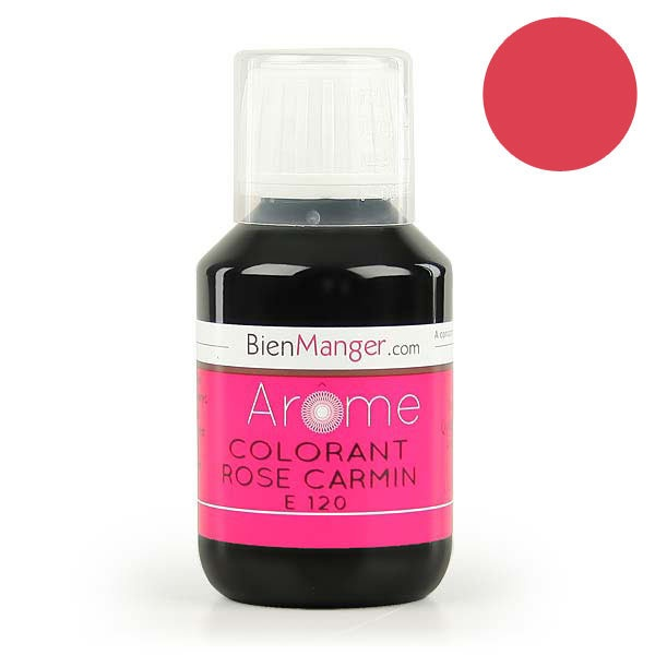 bienmanger aromes et colorants colorant alimentaire naturel rose carmin e120 - Colorant Rouge Naturel