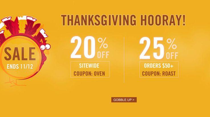 Imperdibile Thanksgiving Hooray on oasap.com!