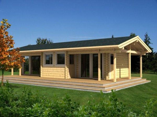 Casa De Madera San Sebastian 120m2 Casa De Madera Rustica Timber Buildings Log Cabin Designs Log Homes