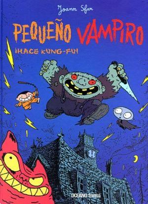 Miguel, el amigo humano de Pequeño Vampiro, tiene serios problemas: un compañero de clases está decidido a fastidiarle la vida. Miguel quisiera darle una paliza, pero antes tiene que aprender a defenderse. Pequeño Vampiro tiene una idea genial: ¡aprender kung-fu con un gran maestro! Entre golpe y golpe, los lectores se desternillarán de risa… - See more at: http://www.oceanotravesia.mx/obras/pequeno-vampiro-hace-kung-fu-9061.aspx#sthash.vK12bgiv.dpuf