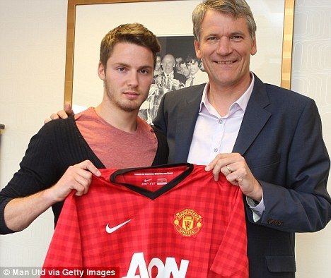 New Signing at Old Trafford - Nick Powell