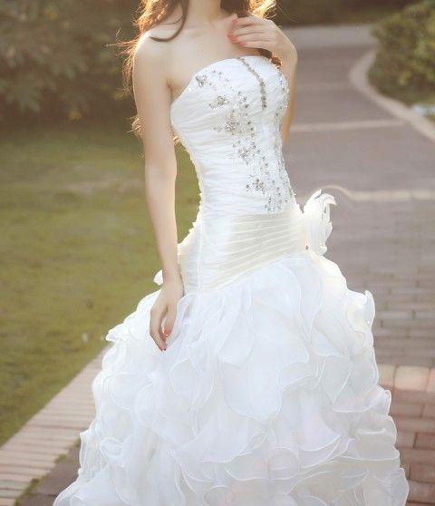 Svatební šaty Romantica šaty svatba romantické šité ples plesové svatební šaty  9000,-Kč