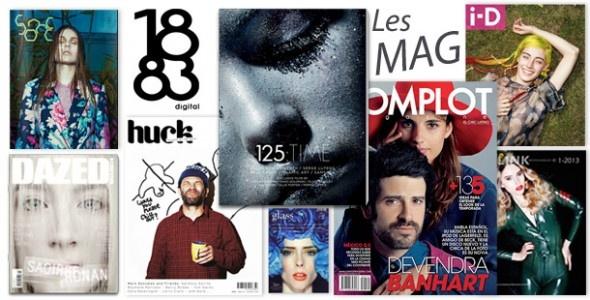 100% Magazine  La sélection ChicBook des webmag et printmag des magazine fashion & branchés