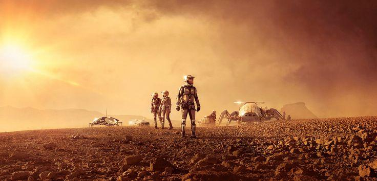 National Geographic Sanal Gerçeklik Oyunu ile Mars'a Yolculuk