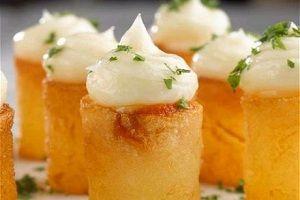 Patatas bravas / con receta.