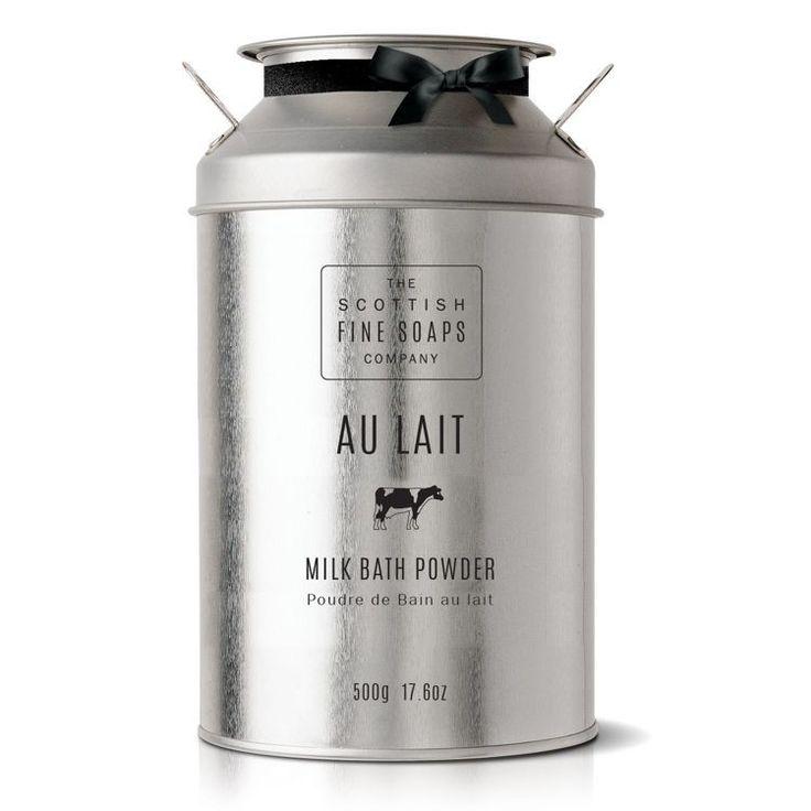 Au Lait MLECZNY PUDER DO KĄPIELI Milk Bath Powder | CIAŁO \ Kąpiel i prysznic MARKI \ Scottish Fine Soaps |