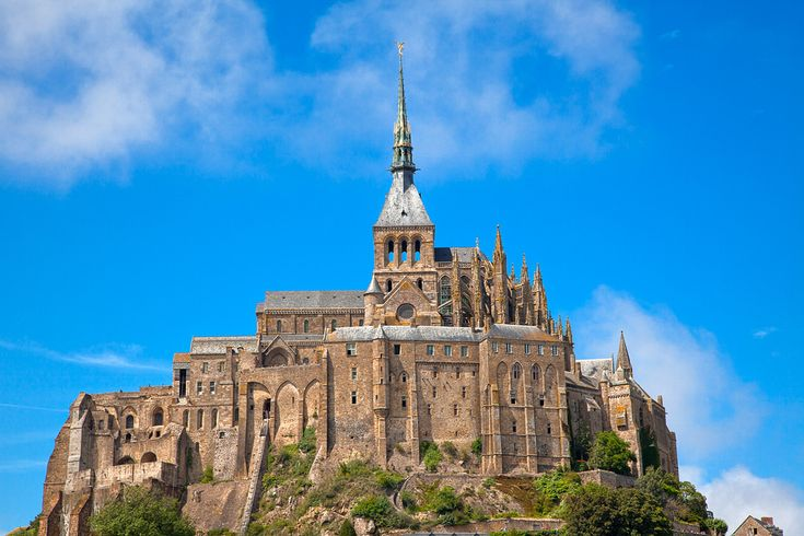 Mont Saint-Michel Castle - HDR by freestock.ca ♡ dare to share beauty