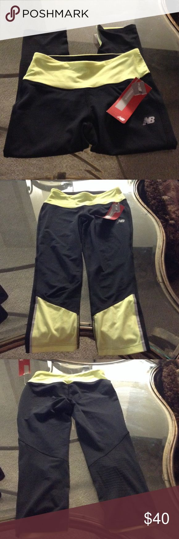 Ladies workout pants S New balance Crops S New Balance Pants Ankle & Cropped