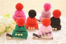 2017 Korean Pet hair accessories Cute Dog Christmas hat multicolor hair accessories wholesale pet clip 20pcs/lot(China) #petdog #petdogs #petdoglove #petdogel #petdoglife #petdoglover