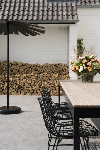 Exterior patio. Villa H_Brakel
