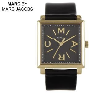 Marc By Marc Jacobs Truman Black Leather Ladies Watch