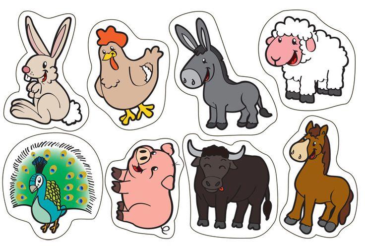 laminas de los animales dela granja - Buscar con Google