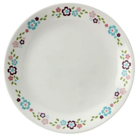 A delightful design painted in sweet soft hues gives this Corelle Florets dinnerware has a wonderfully romantic appeal.  sc 1 st  Pinterest & 9 best Corelle images on Pinterest | Kitchens uk Dishes and Diners